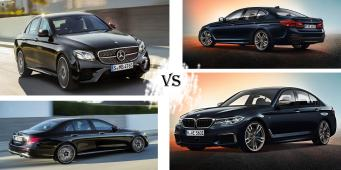 Bmw M550i xDrive VS Mercedes E43 4Matic
