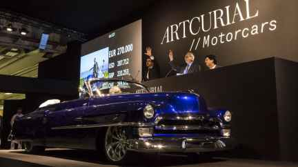 Retromobile 2017 Artcurial Cadillac Johnny Hallyday