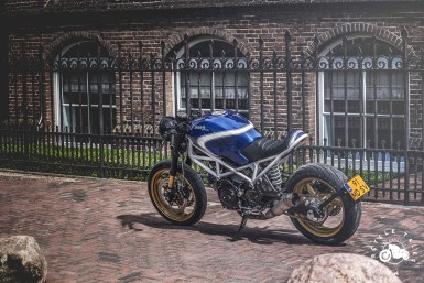 MotorCeption Ducati Monster 695 Cafe Racer
