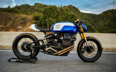 MotorCeption Moto Guzzi V7 Cafe Racer