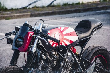 MotorCeption Yamaha XV750 Cafe Racer