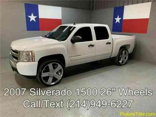 07 silverado 1500 2wd 26in wheels dual