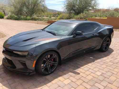 Chevrolet Camaro Ss 1le 2017 Chevy Camaro Ss 1le Package Used Classic Cars