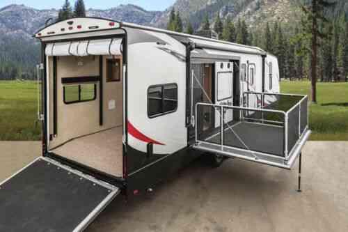 new 2019 stryker 3212 travel trailer