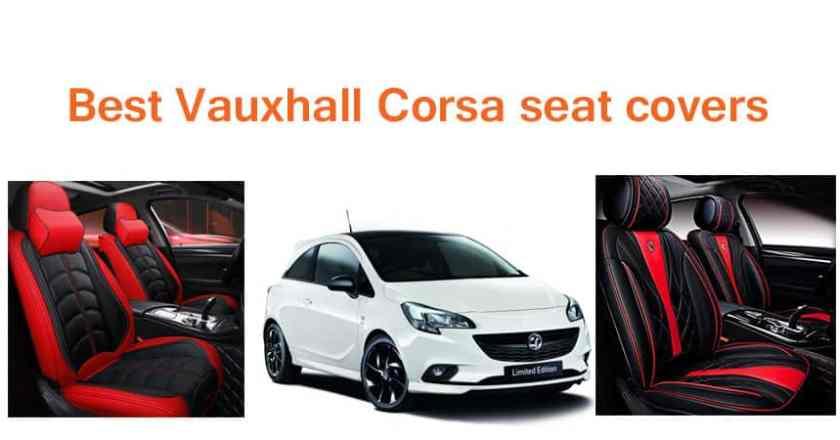 7 Best Vauxhall Corsa seat covers in UK Premium & Waterproof