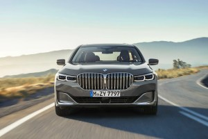 2019 BMW 7 Series facelift front