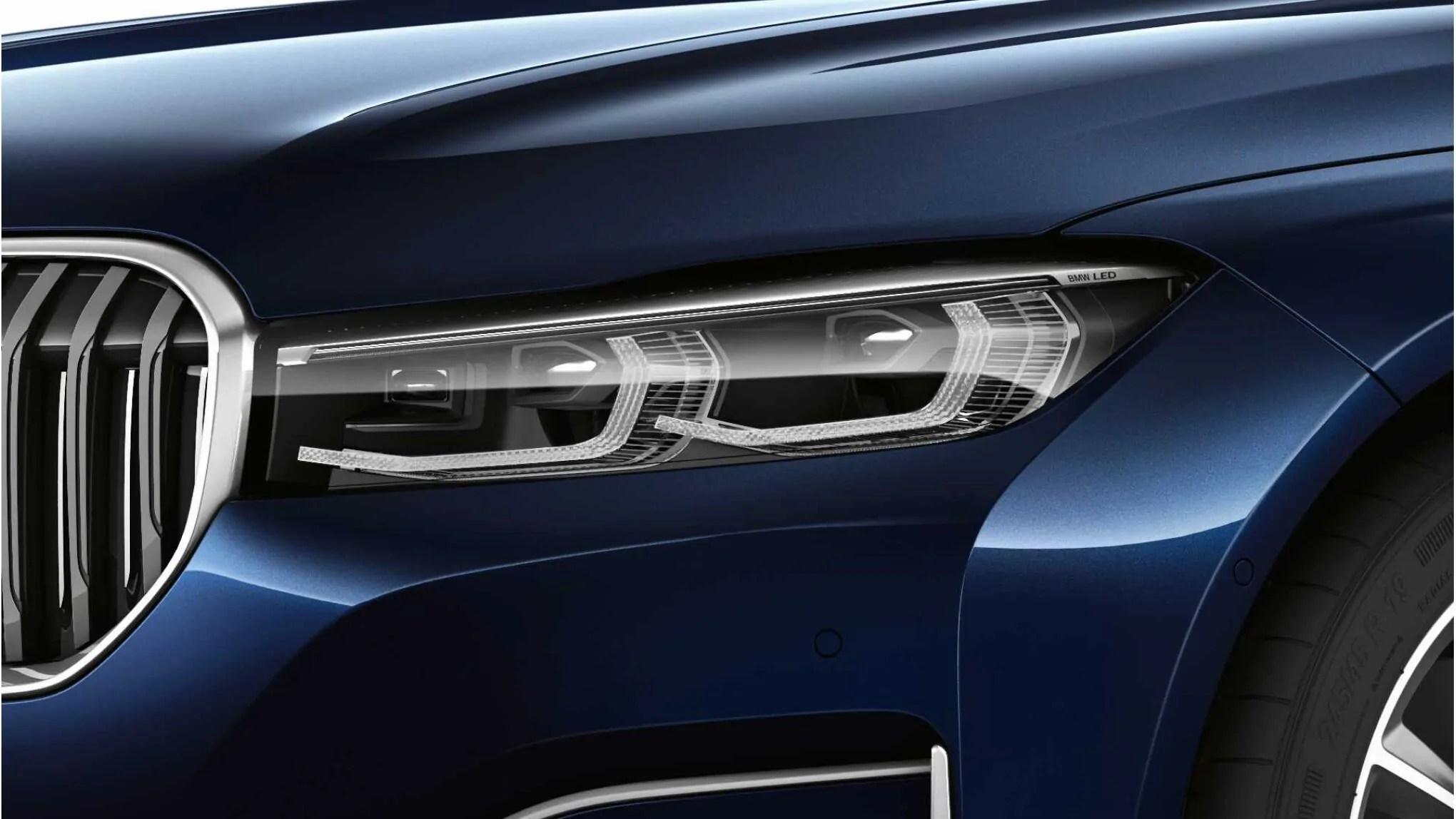 BMW 7 Series E65-E68 2002-2005 Top Quality Headlight Chrome Trim Upgrade