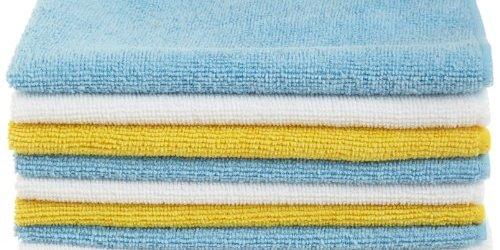 51 QX9UFpYL - AmazonBasics Microfiber Cleaning Cloth - 144 Pack