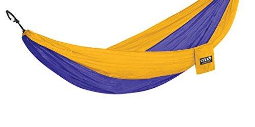 41xA7gQCiKL - Eagles Nest Outfitters - DoubleNest Hammock, Purple/Marigold