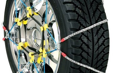 51UtiybbzfL - Security Chain Company SZ134 Super Z6 Cable Tire Chain for Passenger Cars, Pickups, and SUVs - Set of 2