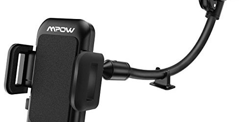 41GShk10 XL - Mpow Cell Phone Holder for Car, Windshield Long Arm Car Mount with One Button Design and Anti-skid Base for iPhone 8/7/7P/6s/6P/5S, Galaxy S5/S6/S7/S8, Google, LG, Huawei and More