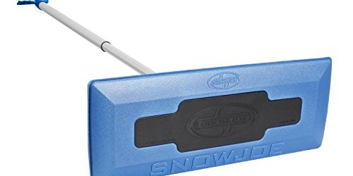 41S7DSu64lL - Snow Joe SJBLZD Telescoping Snow Broom with Ice Scraper