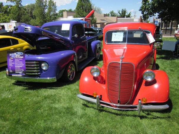 1937 Ford & 1948 Ford F-1