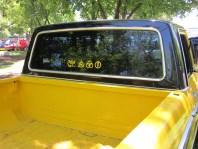 1976 Ford window sticker