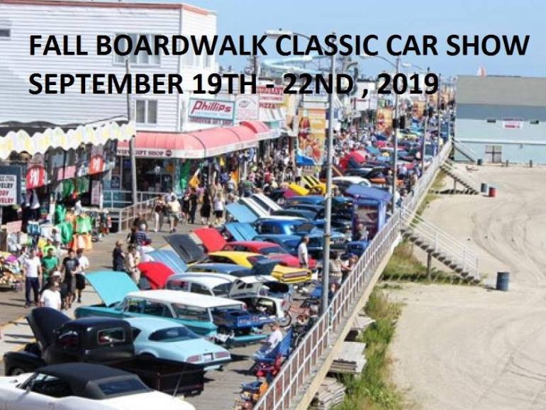 Wildwood Fall Boardwalk Car Show