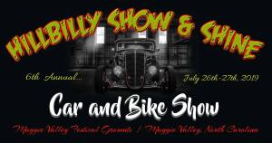 Hillbilly Show & Shine @ Maggie Valley Fairgrounds | Maggie Valley | North Carolina | United States