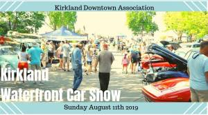 Kirkland Waterfront Car Show @ Kirkland Downtown Association | Kirkland | Washington | United States