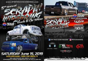 5th Annual Scrapin into Spring Truck Show @ Texas Motor Speedway | Fort Worth | Texas | United States