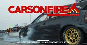 Cars On Fire @ Island Dragway | New Jersey | United States