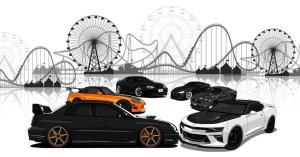 Elite Tuners Cars & Coasters @ Six Flags Great Adventure | Jackson Township | New Jersey | United States
