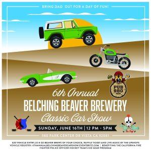 Belching Beaver 6th Annual Classic Car Show @ Belching Beaver Pub 980 | Vista | California | United States