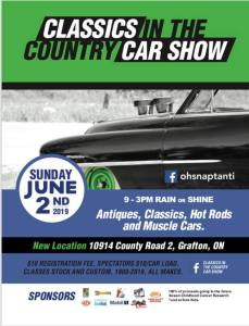 Classics in the Country Car Show @ Grafton | Ontario | Canada