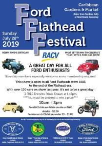 5th Annual Ford Flathead Festival @ Caribbean Gardens and Market | Scoresby | Victoria | Australia