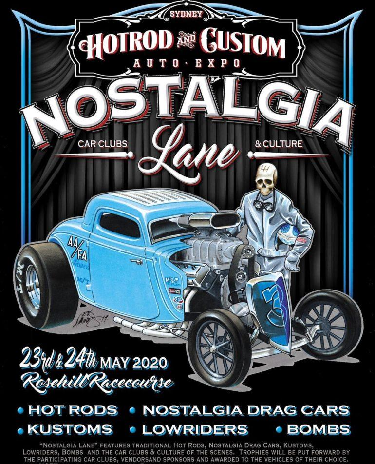 Nostalgia Lane 3 Car Shows Now