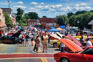 Outlaw Cruisers Car Show @ Franklin St | Rocky Mount | Virginia | United States