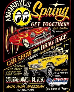 2020 Mooneyes Spring Get Together @ California Speedway | Fontana | California | United States