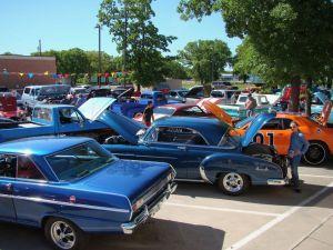 17th Annual Retro Blast @ Yesterday's 50's Diner | Bridgeport | Texas | United States