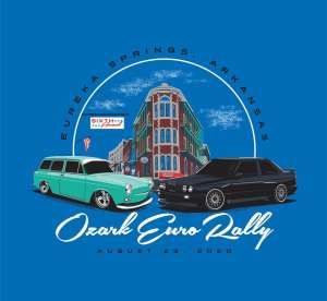 Ozark Euro Rally - All German Car Show 6th Annual @ The Great Passion Play | Eureka Springs | Arkansas | United States