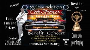 337 Foundation's 1st Annual Car Show & Benefit Concert @ Carrollton | Georgia | United States