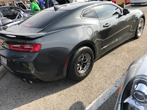 Columbus Cars and Coffee Camaro with racing welds