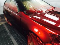 Candy Apple Red - Kustom Panel Paint, Perth Australia