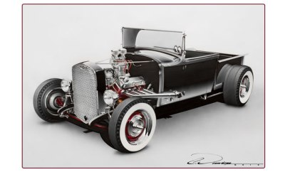 Pinstripe Chris Rendering - 30 Model A