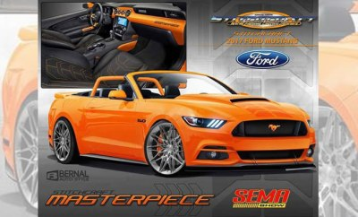 SEMA Show 2016 Teasers - stitchcraft-mustang