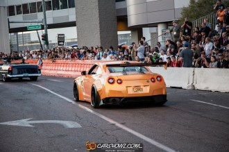 Driven To Cure SEMA Rollout Photo by Jeff Cantagallo