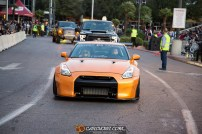 Driven To Cure SEMA Rollout Photo by Jeff Cantagallo