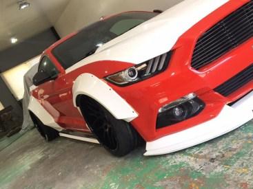 SEMA 2017 Sneak Peek SEMA LB Mustang.02