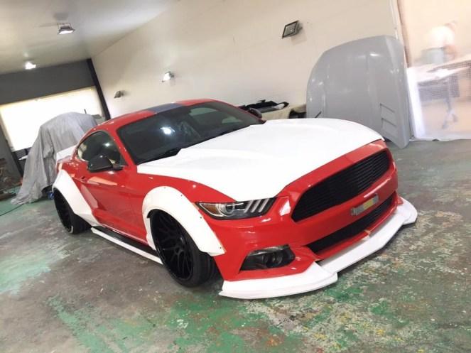 SEMA 2017 Sneak Peek SEMA LB Mustang.05