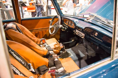 Interior of the 1963 AMC Rambler American 440 Wagon