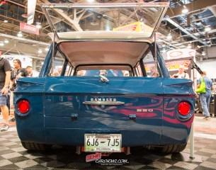 Rear of the of the 1963 AMC Rambler American 440 Wagon