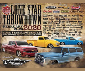 Lone Star Throwdown 2020 Flyer