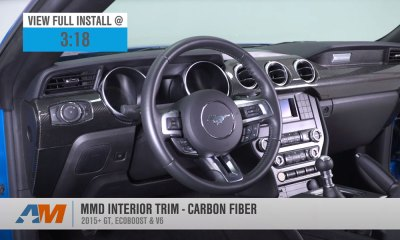 MMD Carbon Fiber Trim Panel Kit