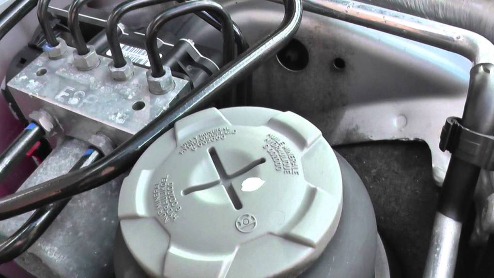 Power steering fluid box