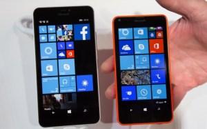 Lumia 640XL (links) und Lumia 640 (rechts)
