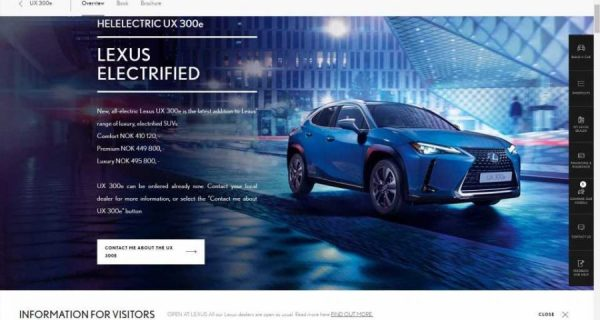 Lexus UX 300e Reservations Now Open In Norway: Check ...