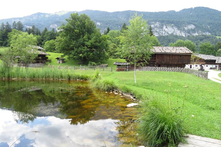 La famosa aldea medieval Tirolesas Kramsach