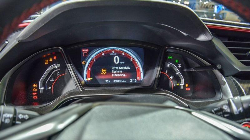 2018 Honda Civic Type R Super Aggressive Prototype At